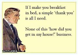 thank you ecards breakfast in bed simple thank you ecards