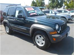 2006 green jeep liberty 2006 jeep liberty for sale in r ca 1j4gl48k36w121088