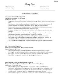 C Level Executive Resume Sample Resume Executive Coordinator Augustais