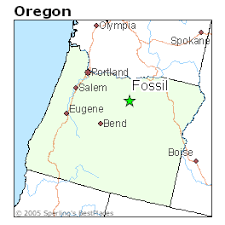 best places to live in fossil oregon