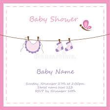 baby einladung stock abbildung bild von neugeboren meldung