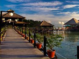 gayana eco resort malaysia overwater bungalows