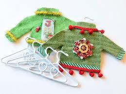 how to make mini sweater tree ornaments hgtv