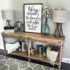 Console Table For Living Room Living Room Console Table Decorating Ideas Ls Rustic Idea For
