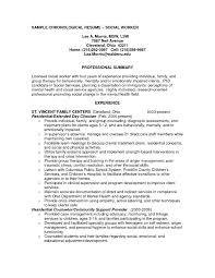 Example Of Professional Summary For Resume by Mental Health Resume Objective Examples Perfect Resume 2017