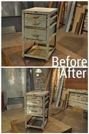 before and after images from hgtv u0027s flea market flip steampunk