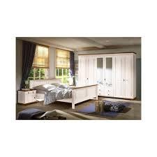 Schlafzimmer Auf Rechnung Kaufen Sevilla Schlafzimmer Set 4 Tlg Kiefer Massiv Weiß Lackiert Schrank
