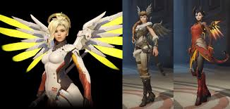 halloween mercy background overwatch delivers diversity alongside stereotypes still