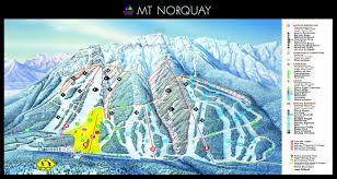 Breckenridge Ski Map Lake Louise Alberta Resort Ski Trail Map