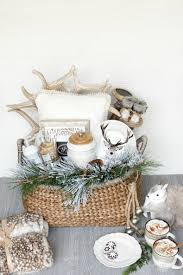 Gift Basket Ideas For Christmas Creative And Luxe Holiday Gift Basket Ideas With Pier 1 Home