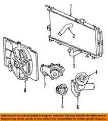 chrysler pt cruiser radiator fan chrysler oem 06 10 pt cruiser radiator fan module assy