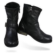 black biker boots arrow mens biker boots shoes black