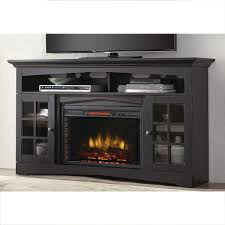 freestanding black fireplace tv stands electric fireplaces