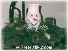 Christmas Hurricane Centerpiece - hurricane globe snowman for a fun centerpiece four seasons