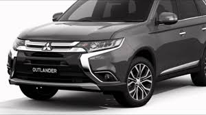 mitsubishi outlander 2016 white 2016 mitsubishi outlander phev atlantic grey youtube
