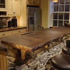 Kitchen Countertops Designs Best 25 Stained Concrete Countertops Ideas On Pinterest Stained