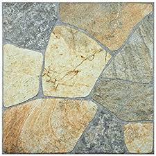 garden winds gray split stone deck tiles box of 10 amazon com