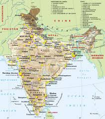 India Map Blank With States by State And Union Territories India Map Maps Of India