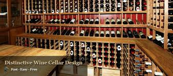 distinctive custom wine cellars and commercial wine racking