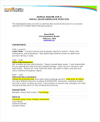 retail resume exles sales resume exle 7 free word pdf documents downlaod free
