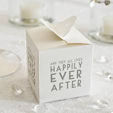 Box Wedding Favors by Happily After Wedding Favor Box Happily After Wedding