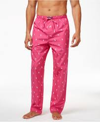 polo ralph s woven polo player pajama in pink for