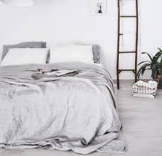 summer bed rough linen soft summer bedding 100 natural linen