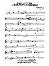 have yourself a merry little christmas flute sheet music