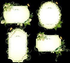 halloween border transparent background vintage floral border pattern flowers vector ornamental design