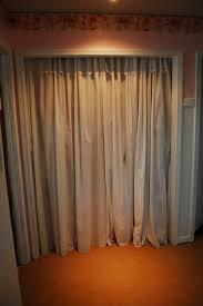 Replace Sliding Closet Doors With Curtains Closet Curtain Door Bedroom Closet Curtains 100 Curtains Closet
