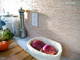 Kitchen Backsplash Tile Ideas HGTV - Adhesive kitchen backsplash