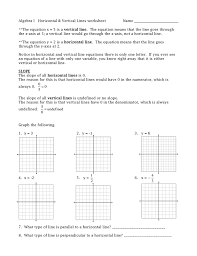 equations of parallel and perpendicular lines worksheet tessshebaylo