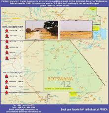 africa map kalahari central kalahari reserve central kalahari national park