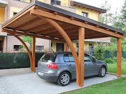 tettoia legno auto carport in legno prezzi id礬es de design d int礬rieur