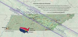 Map Of Nashville Tn The Total Solar Eclipse Of August 21 2017 Dyer Vanderbilt