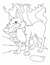 wolf coloring book coloring