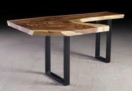 Wood Desk Plans by Wood L Shaped Desk Foter