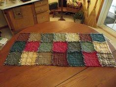 Primitive Table Runners by Rustic Rag Quilt Table Runners Made To Order Handmade For