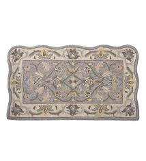 Fire Proof Hearth Rugs Handtufted Fire Resistant Scalloped Wool Mclean Hearth Rug Ebay