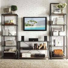 Living Room Furniture Tv Cabinet Metal Tv Stands Living Room Furniture The Home Depot