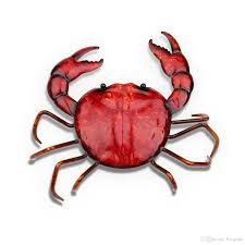 2018 tooarts crab ornament crafting home furnishing articles