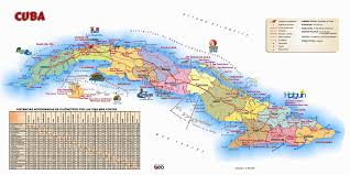 Cuba On The World Map by Large Detailed Tourist Map Of Cuba Cuba Large Detailed Tourist