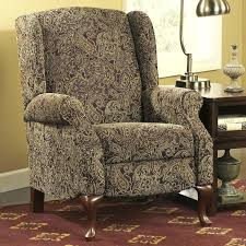 reclining accent chair s aaron reclining fabric accent chair