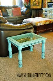 frosted glass coffee table 2 add character to glass furniture the easy way all things thrifty