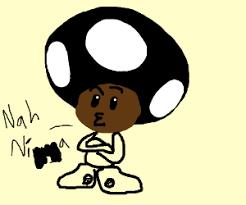 mario toad goth