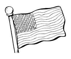 print u0026 download american flag coloring page to print