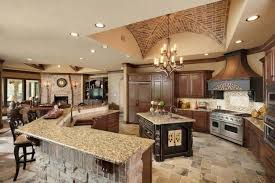 kitchen great room ideas kitchen great room with l shaped island decorating ideas for a