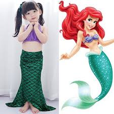 Mermaid Halloween Costume Toddler Cheap Baby Ariel Costume Aliexpress Alibaba Group