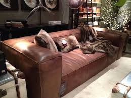 Restoration Hardware Kensington Leather Sofa Leather Sofa Look 4 Less And Steals And Deals