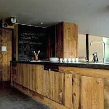 cuisine en bois naturel porte de cuisine en bois brut meuble de cuisine en bois incroyable